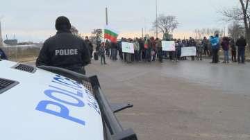 Протест в софийския квартал Абдовица заради санитарна сеч край река Искър