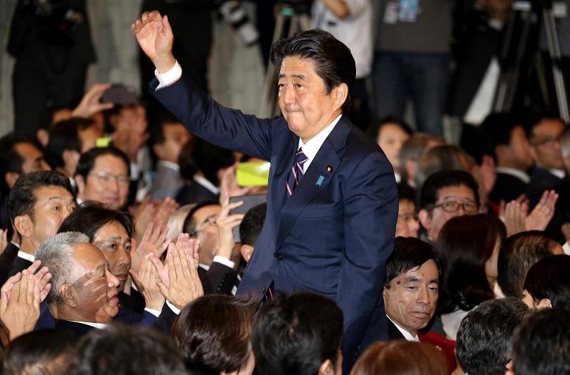 Шиндзо Абе беше преизбран за лидер на японската Либерално-демократическа партия.