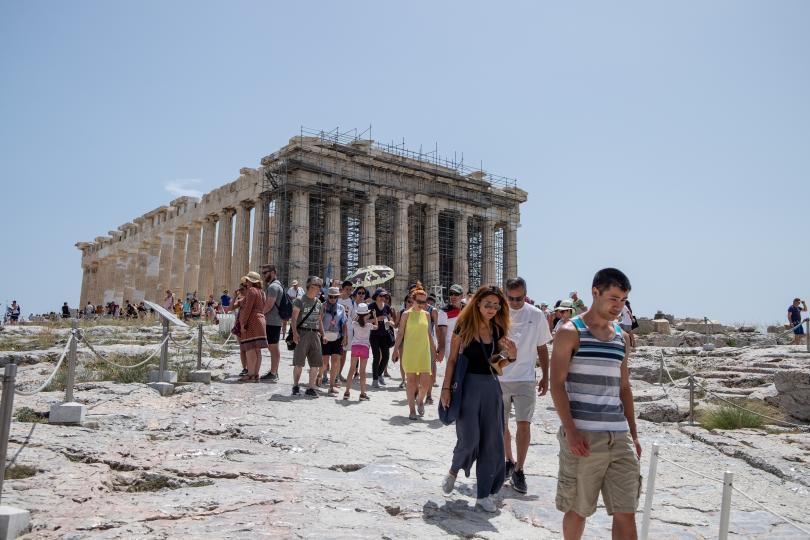 снимка 1 Акрополът в Атина ще остане затворен заради жегата