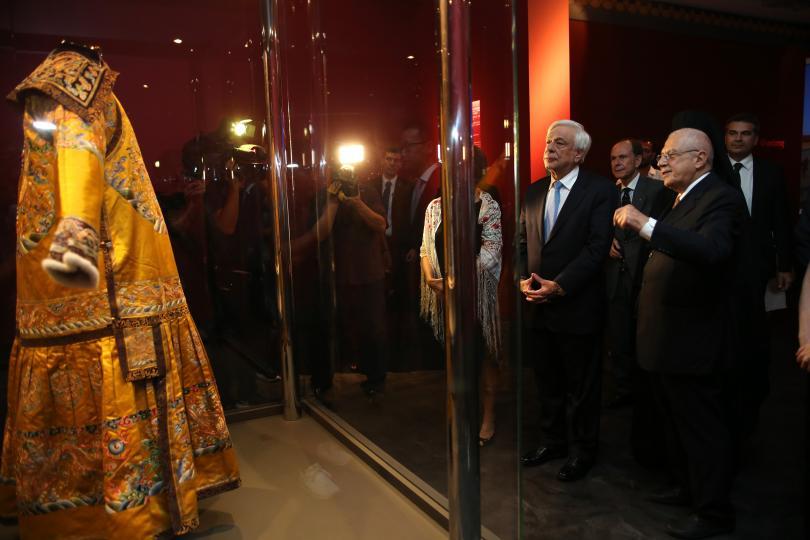 снимка 6 Император Цянлун превзема музея на Акропола в Атина (СНИМКИ)