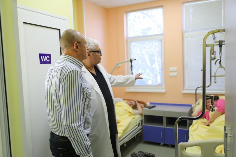 "Новото отделение по ортопедия и травматология в университетската болница ""Медика"""