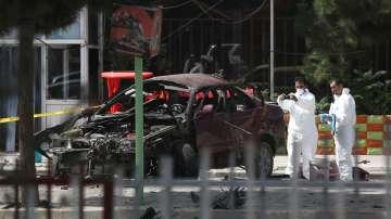 Бомба избухна до посолството на САЩ в КАБУЛ