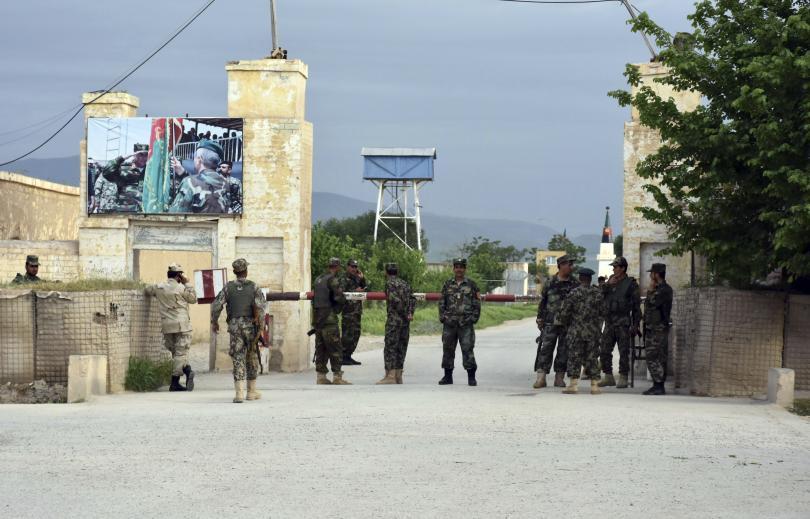 афганистанци убити ранени нападение военна база