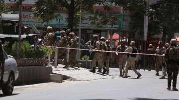 Атентатор камикадзе се взриви пред сградата на посолството на Ирак в Кабул
