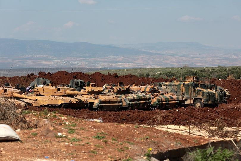 Турската армия и нейните съюзници от Свободната сирийска армия са