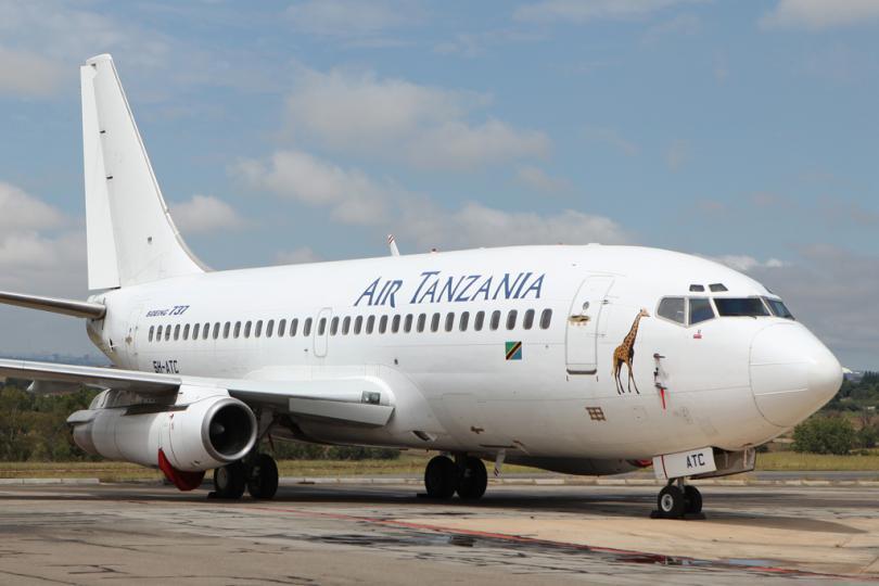 Южна Африка задържа самолет, принадлежащ на националния превозвач на Танзания,