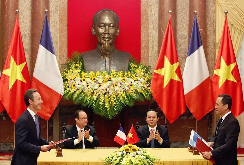 Еърбъс продаде 40 самолета на три виетнамски авиокомпании