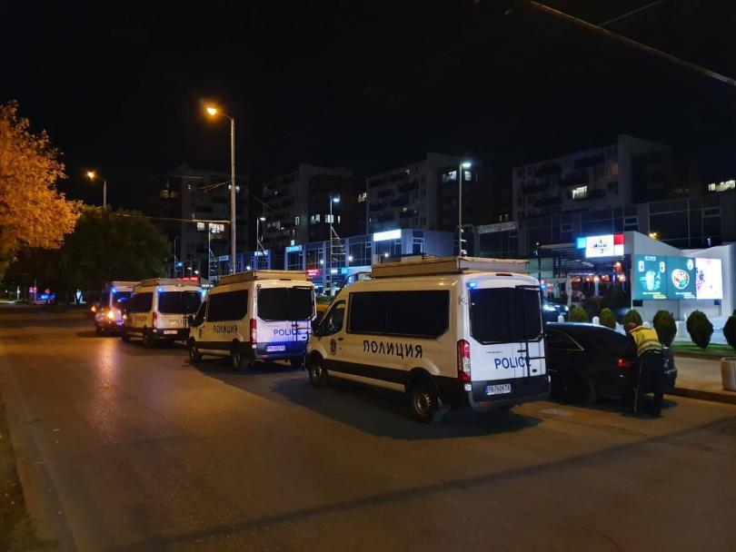 120 нарушения са установени при акция на полицията в Пловдив