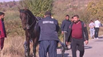 Полицейската акция в Мъглиж - след нелегално състезание с ромски каруци