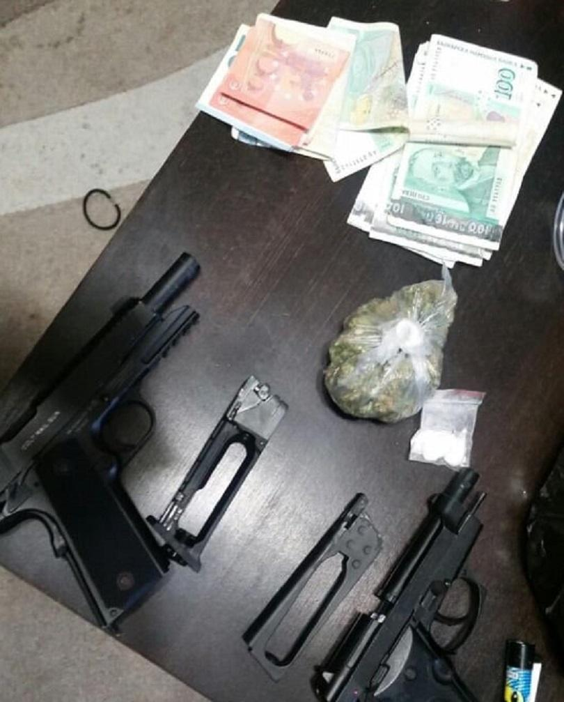Спецакция срещу наркоразпространението е проведена вчера от служители на отдел