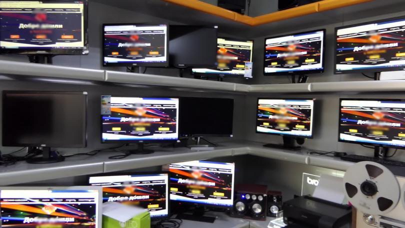снимка 1 Акция за нелегално разпространение на телевизионни програми в Кърджали