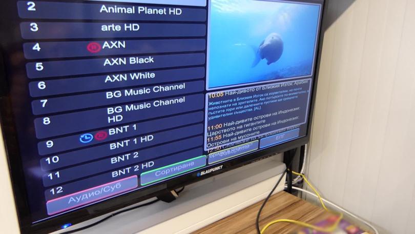снимка 4 Акция за нелегално разпространение на телевизионни програми в Кърджали