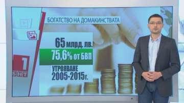 Нараства богатството на българските домакинства
