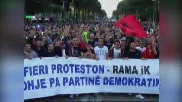 Обединената албанска опозиция организира шести пореден национален митинг