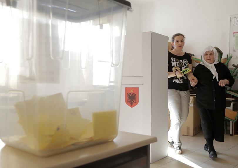 ниска избирателна активност местния вот албания