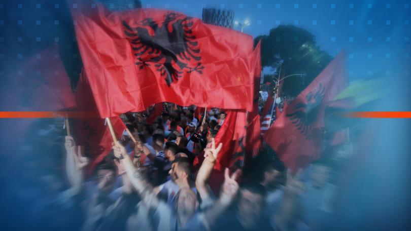 оссе готова посредничи преодолявана политическата криза албания