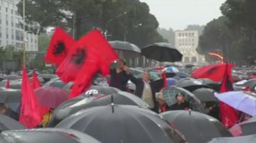 Пореден протест в Албания