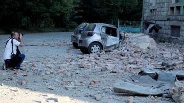 Броят на ранените след трусовете в Албания надхвърли 100 души