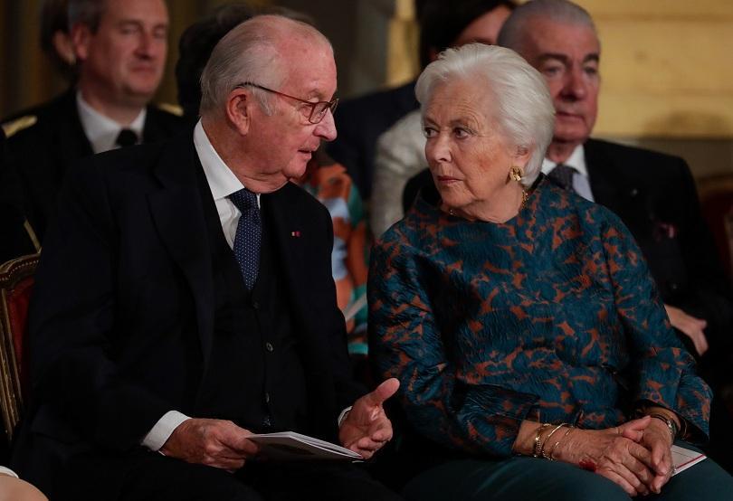 Бившият крал на Белгия Алберт II призна в понеделник, че