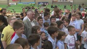 Световният шампион по шах Анатолий Карпов гостува на турнира Тракийско конче