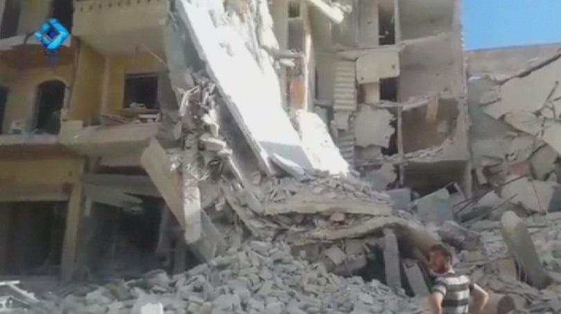 жертви ожесточени сражения сирийския град алепо