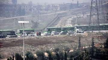 Противоречиви причини за спряната евакуация на цивилни в Алепо