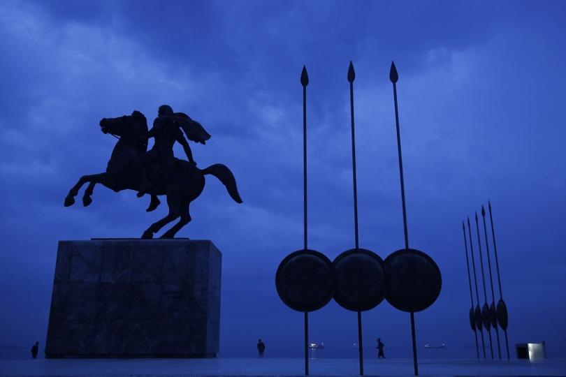 Паметник на Александър Велики в Солун