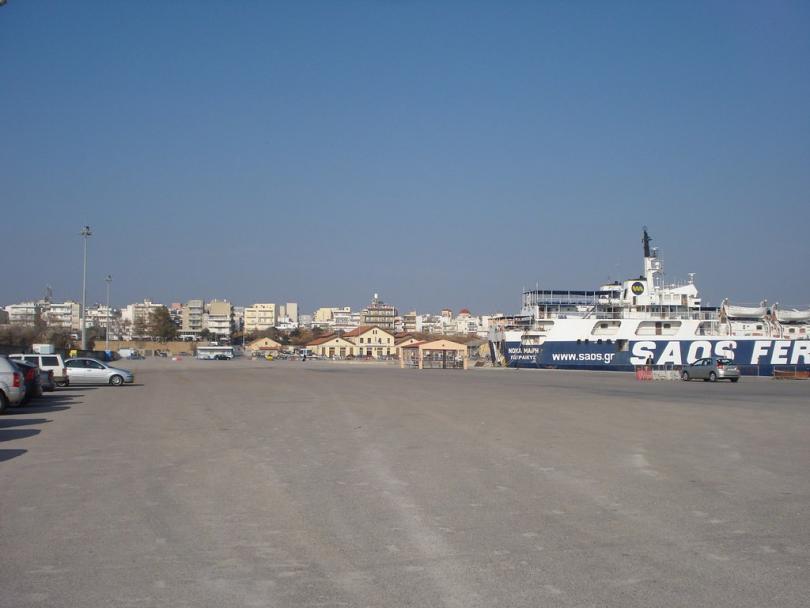 Техническа повреда на единствения ферибот между пристанището в Александруполис и