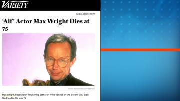 Почина актьорът, изпълнил ролята на Уили Танер в Алф