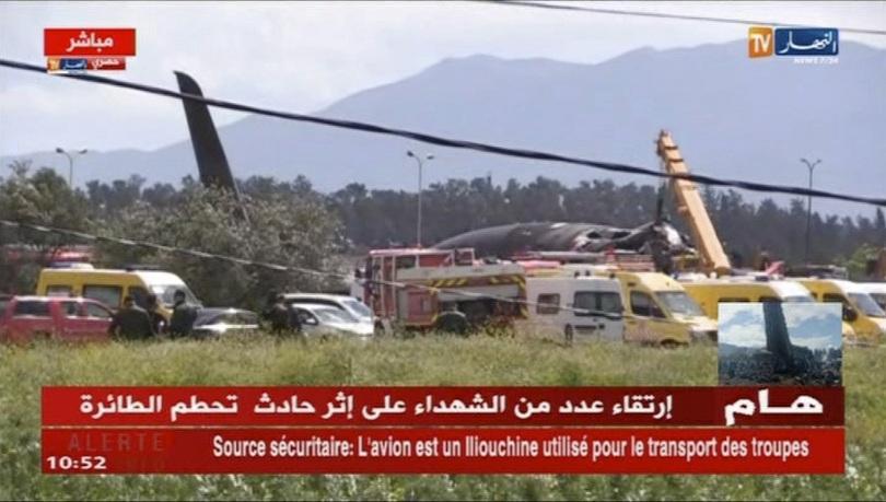 105 души е имало в катастрофиралия днес в Алжир военнотранспортен