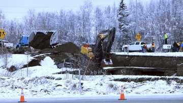 Вторични трусове и сериозни щети след 7 по Рихтер в Аляска