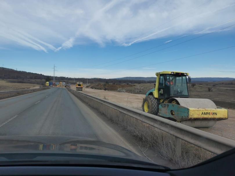 бойко борисов инспектира строителните дейности изграждането европа