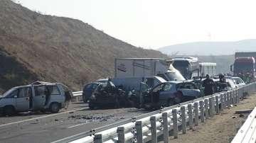 Състоянието на част от пострадалите в катастрофата на АМ Струма остава тежко