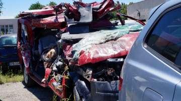 Три жени и 2-годишно дете са загиналите при тежката катастрофа на АМ Тракия