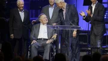 Петима американски президенти участваха в благотворителен концерт