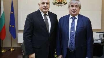 Премиерът Бойко Борисов се срещна с посланиците на Турция и Русия