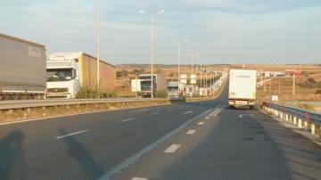 """Натоварен трафик на ГКПП """"Капитан Андреево"""" и """"Лесово"""""""
