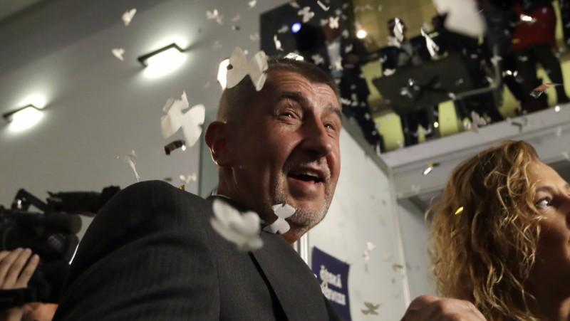 "Андрей Бабиш, лидер на партия ""Ано"""