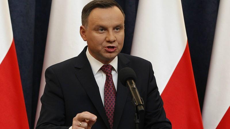 Полският президент Анджей Дуда