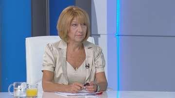 Анелия Клисарова: 22% от учениците отпадат от училище между 5 и 7 клас