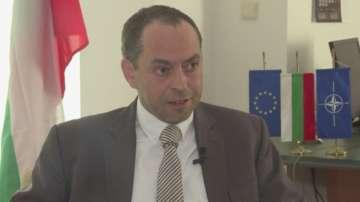 Специално за БНТ: Интервю с посланика ни в Скопие Ангел Ангелов