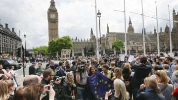 Привърженци на членството на Великобритания в ЕС протестираха в Лондон