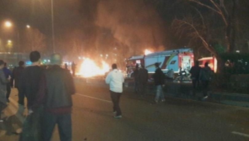 снимка 3 Мощна експлозия в центъра на Анкара (СНИМКИ И ВИДЕО)