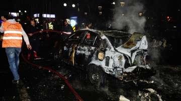 Мощна експлозия в центъра на Анкара (СНИМКИ И ВИДЕО)