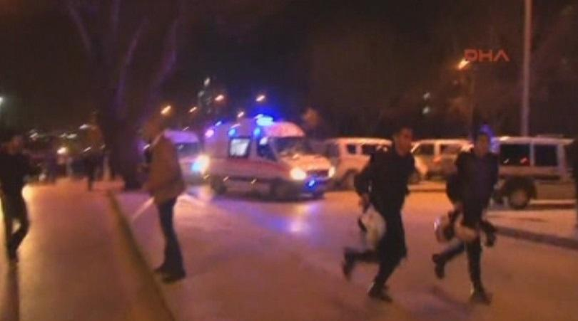 снимка 3 Терористичен акт с кола-бомба в Анкара