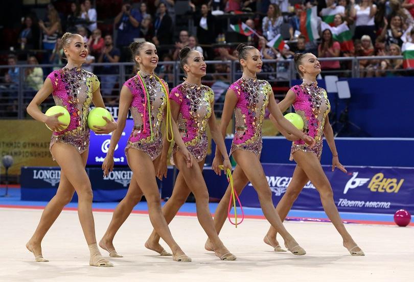 Българският ансамбъл спечели бронзов медал в многобоя на 36-о световно