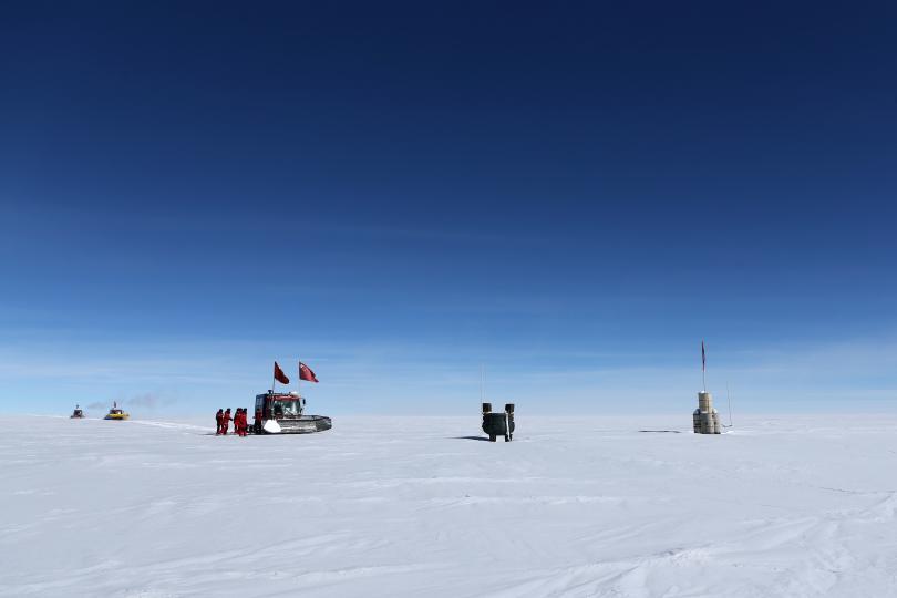 Снимка: Ледената покривка на Земята се затопля