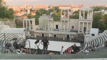 """Операта """"Орфей и Евридика на сцената на Античния театър в Пловдив"""