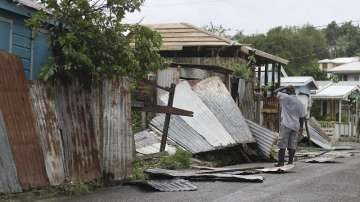 """Ураганът """"Ирма"""" връхлетя Карибските острови"""
