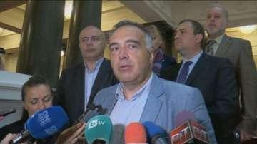 БСП внесе в НС искането за оставката на Емил Христов
